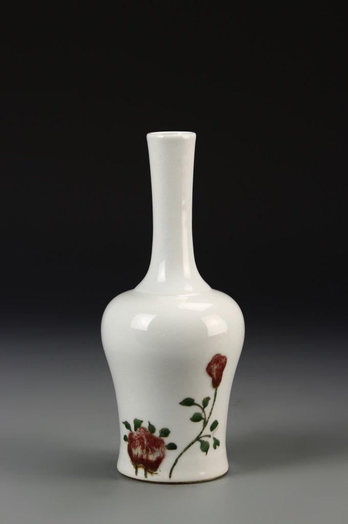 Chinese Famille Rose Bell Vase