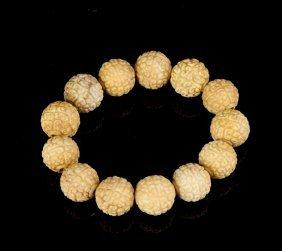 Chinese Tibetan Agate Prayer Beads