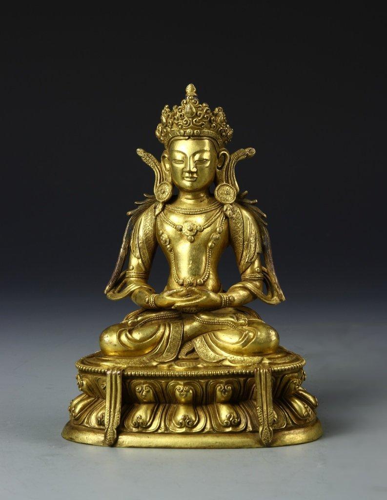 Chinese Tibetan Buddha