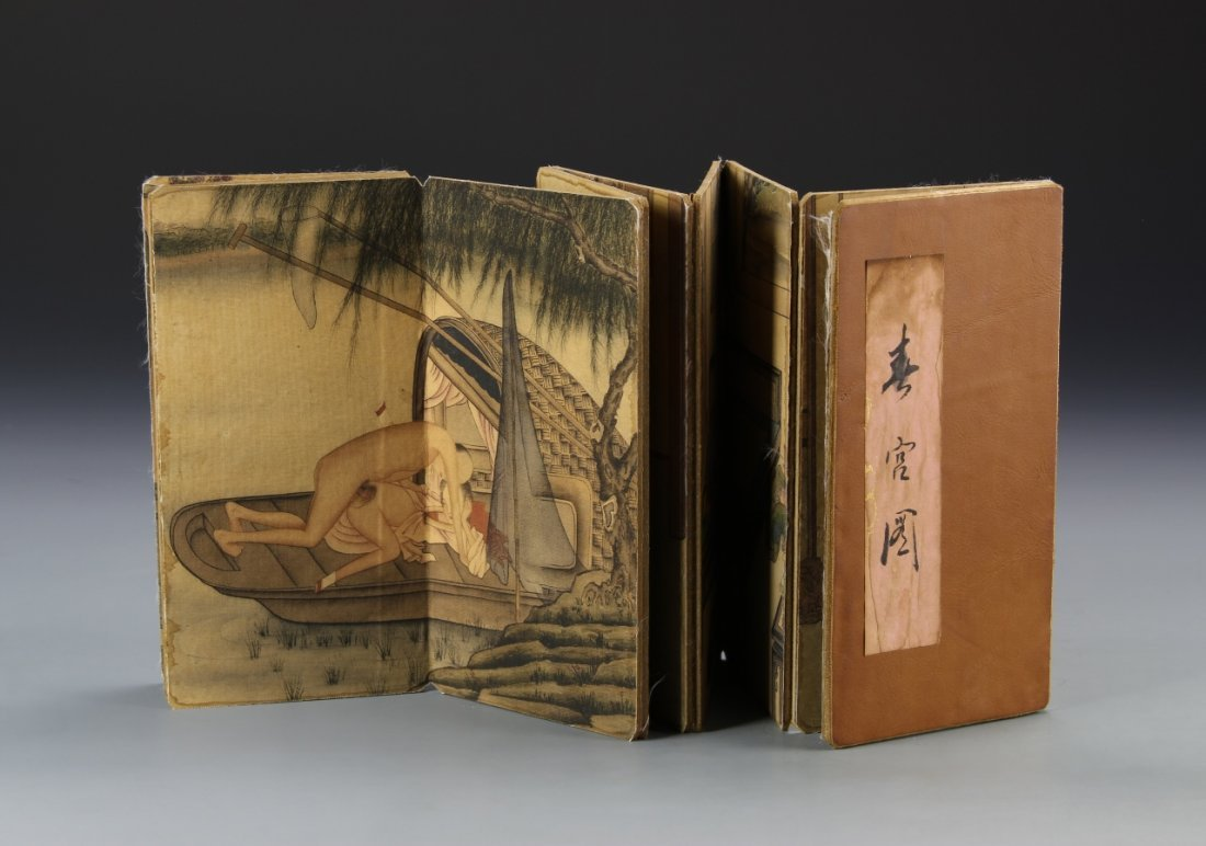 Chinese Album of Erotic Painting