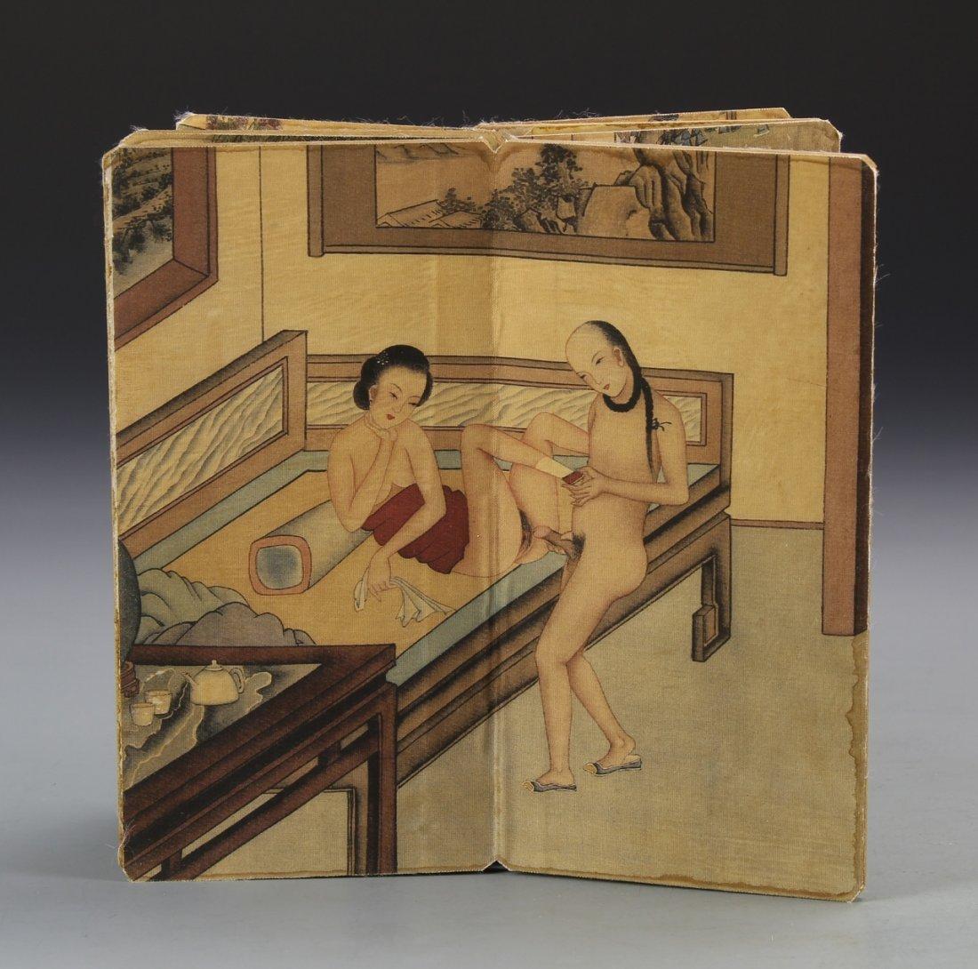 Chinese Album of Erotic Painting - 2