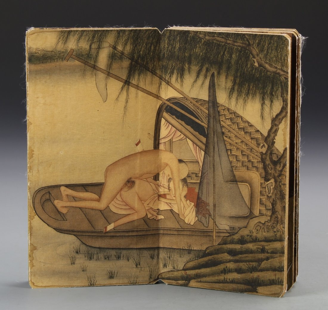 Chinese Album of Erotic Painting - 3