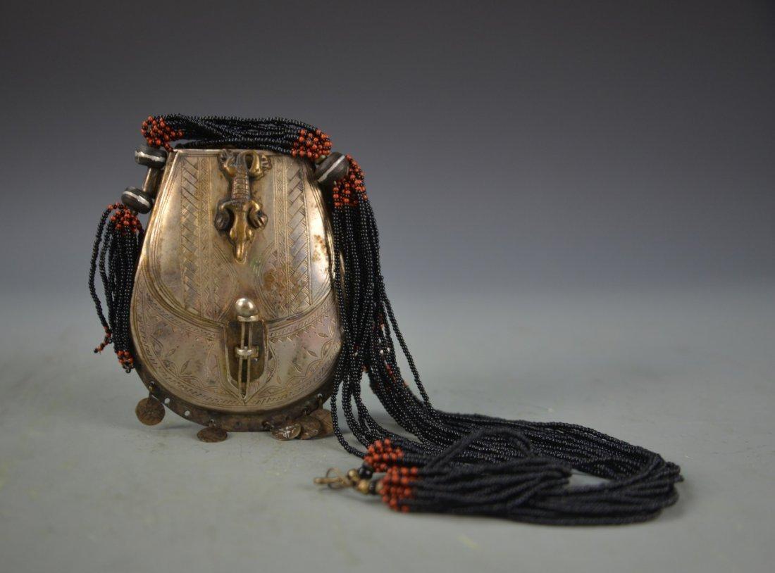 Tibetan Metal Pendent Necklace