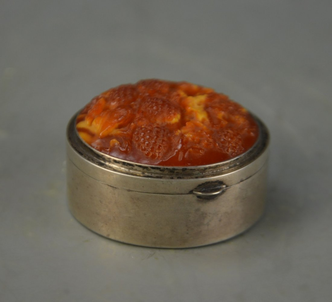 Chinese Silver Jewelry Box