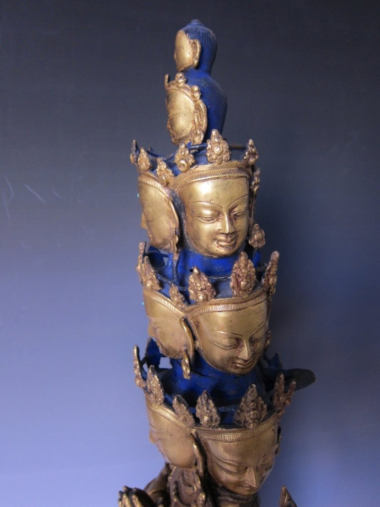 Chinese  Gilt Buddhist Statue - 9