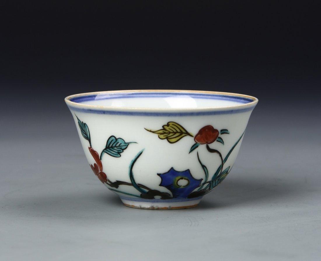 Chinese Wucai Bowl