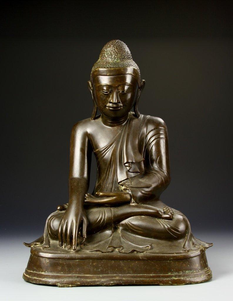 Thailand Bronze Buddha Statue