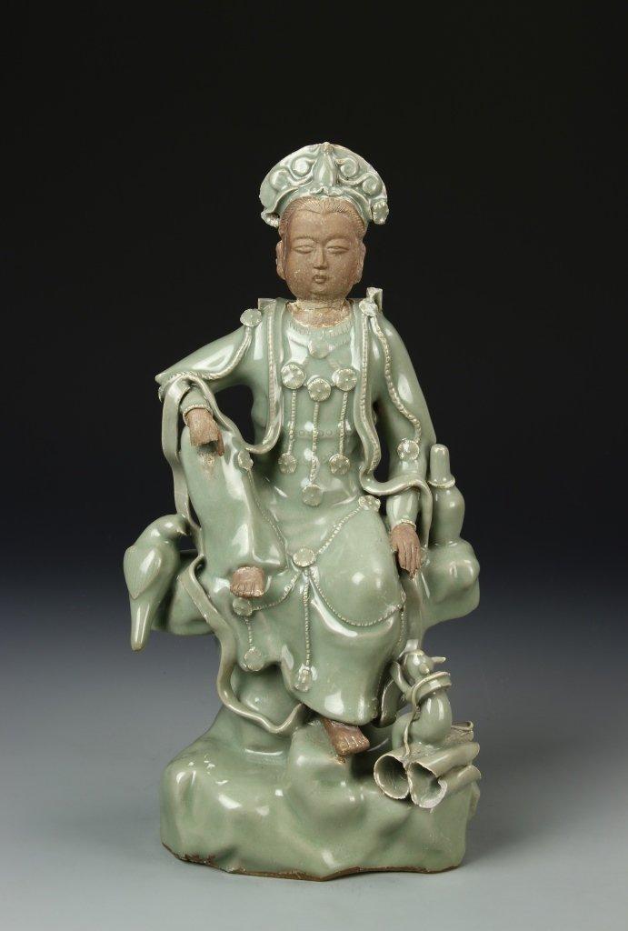 Chinese Lungquan Yao Guanyin