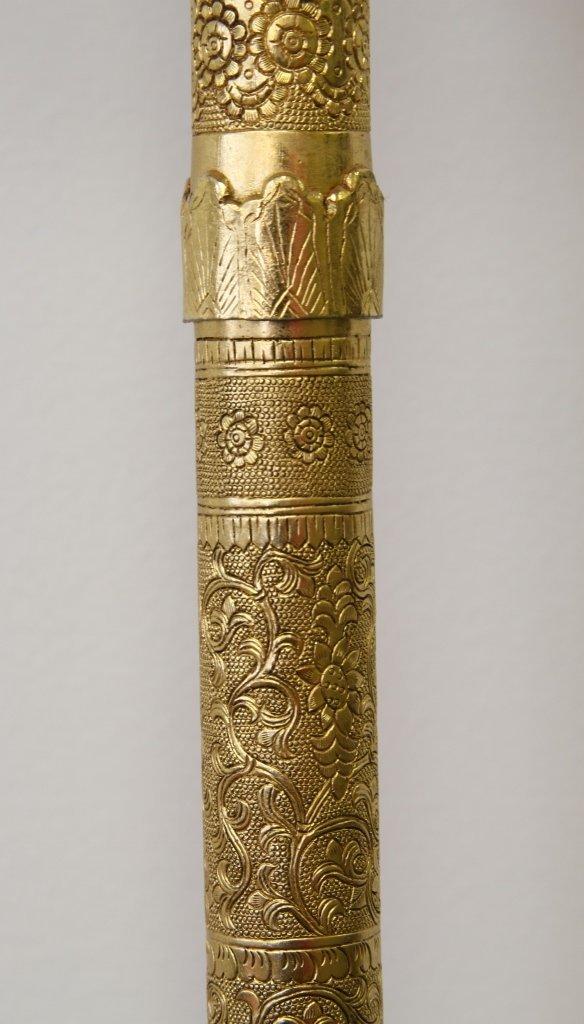 Chinese Gilt Buddhist Ceremonial Tool - 3
