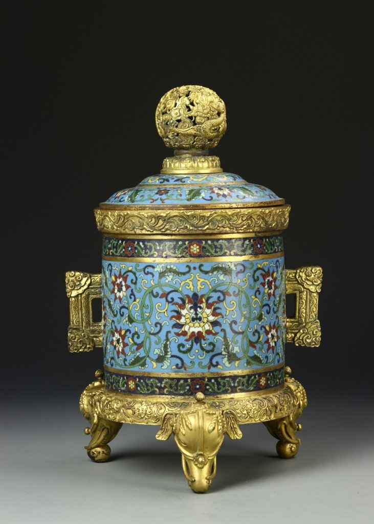 Chinese Cloisonne Vessel
