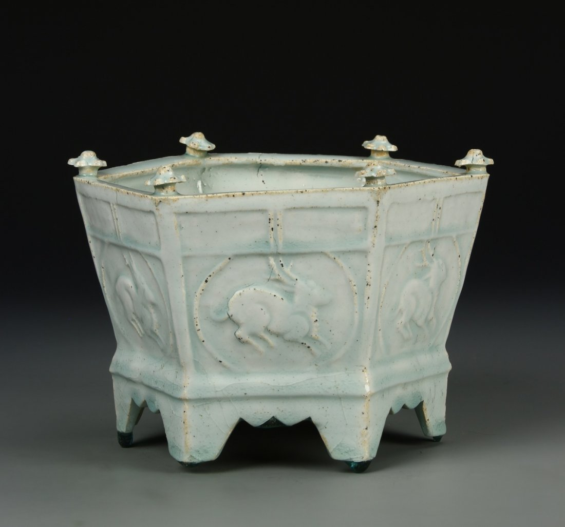Chinese Ying Qing Censer