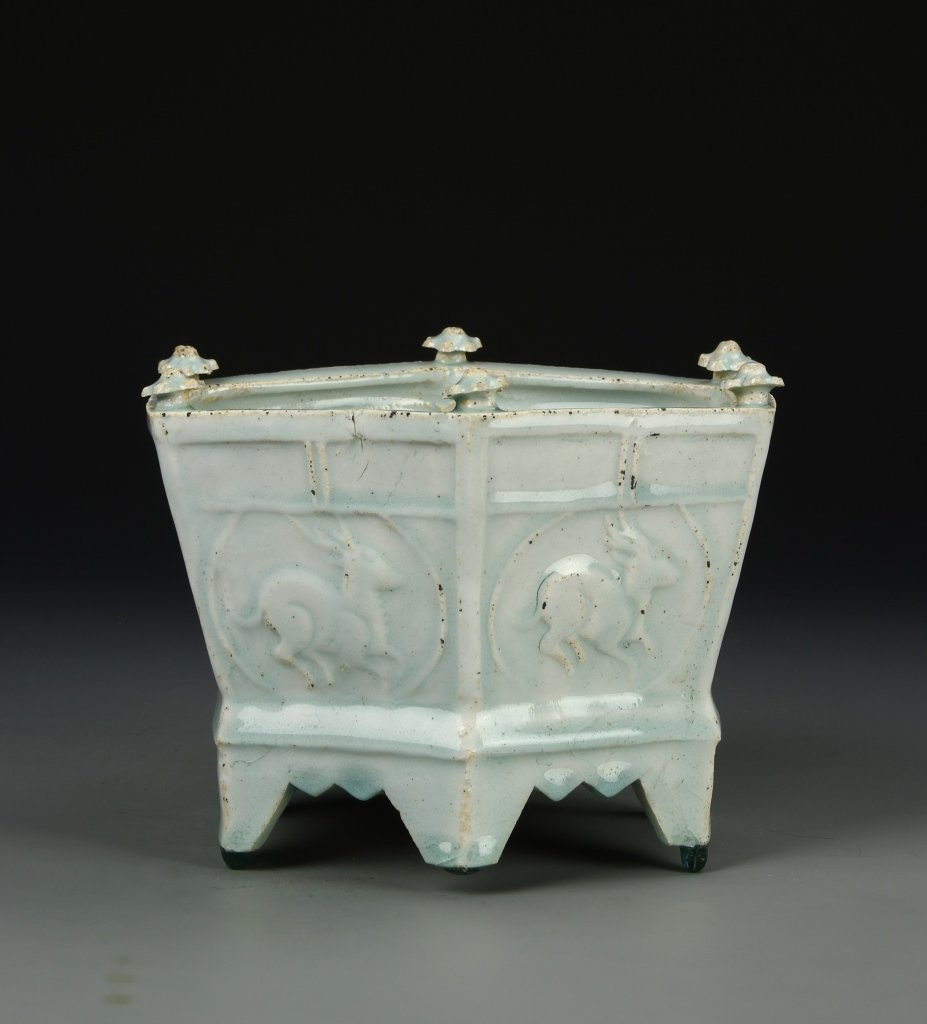 Chinese Ying Qing Censer - 3