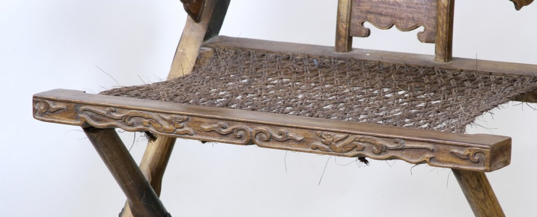 Chinese Antique Hardwood Chair - 4