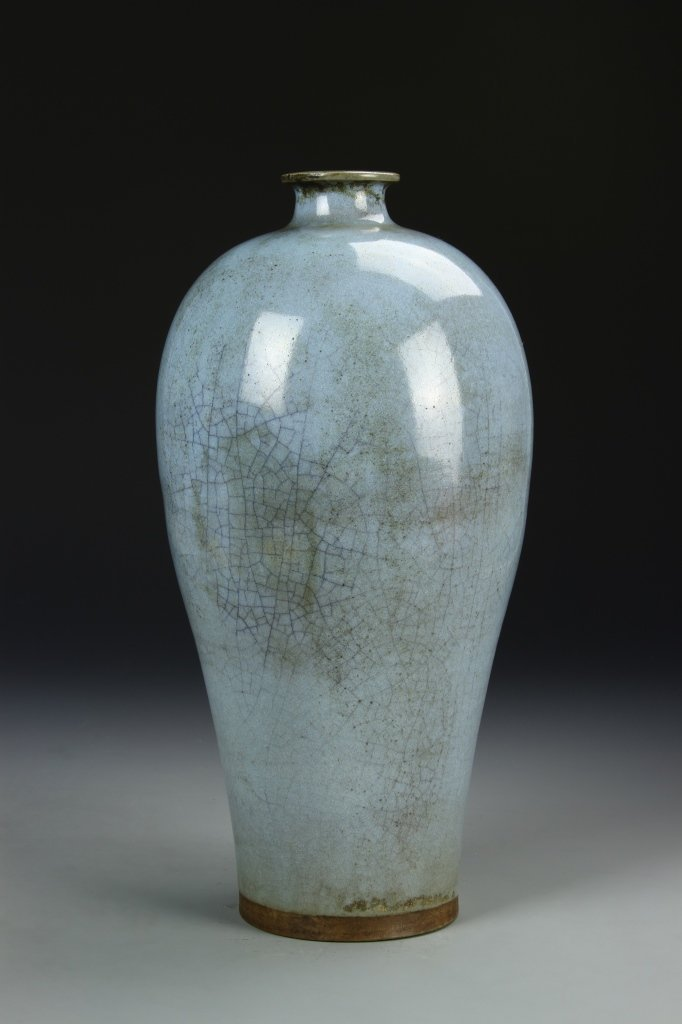 Rare Chinese Ch'un-yao Meiping Vase - 3