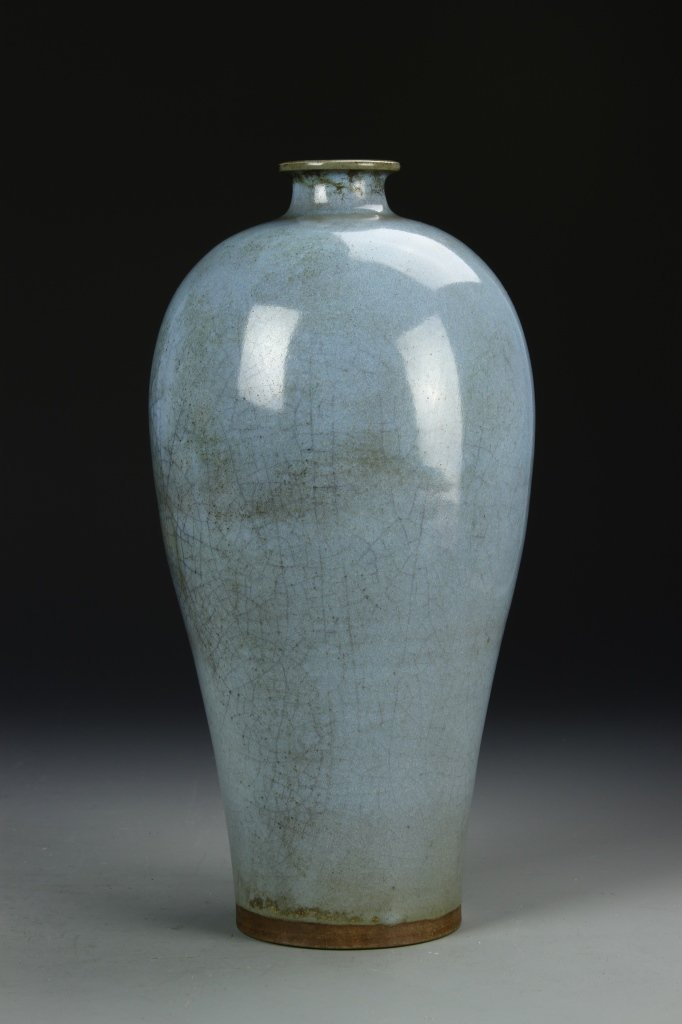 Rare Chinese Ch'un-yao Meiping Vase - 7