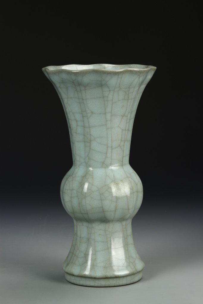 """Longchuan K'uan-type """"Gu"""" Shaped Vase"""