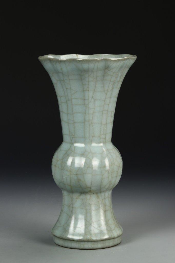 """Longchuan K'uan-type """"Gu"""" Shaped Vase - 2"""