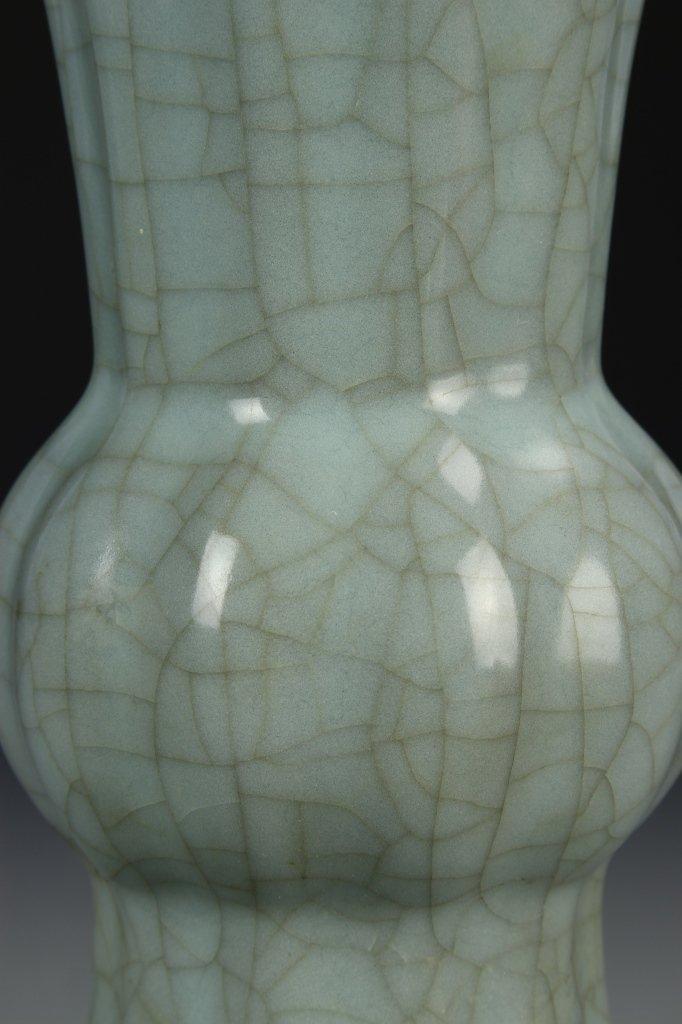 """Longchuan K'uan-type """"Gu"""" Shaped Vase - 4"""