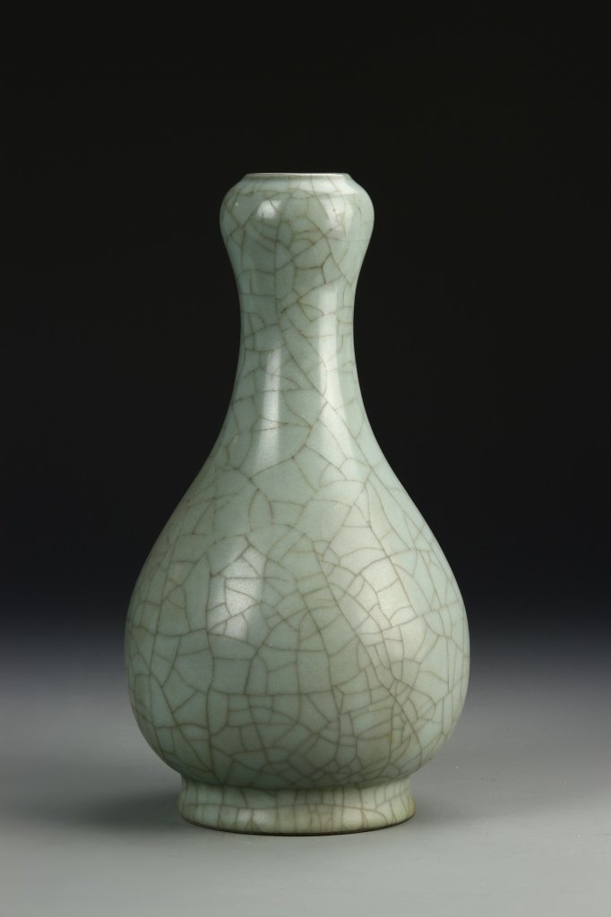 Chinese K'uan Type Garlic-Head Vase - 2