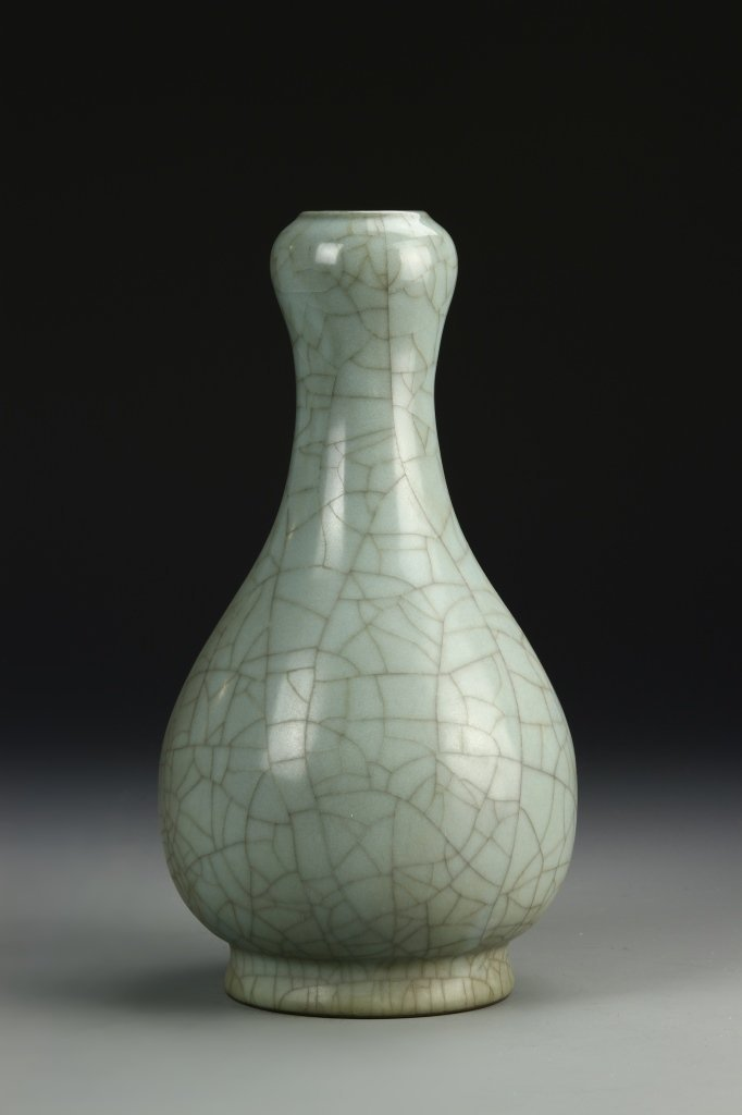Chinese K'uan Type Garlic-Head Vase - 3