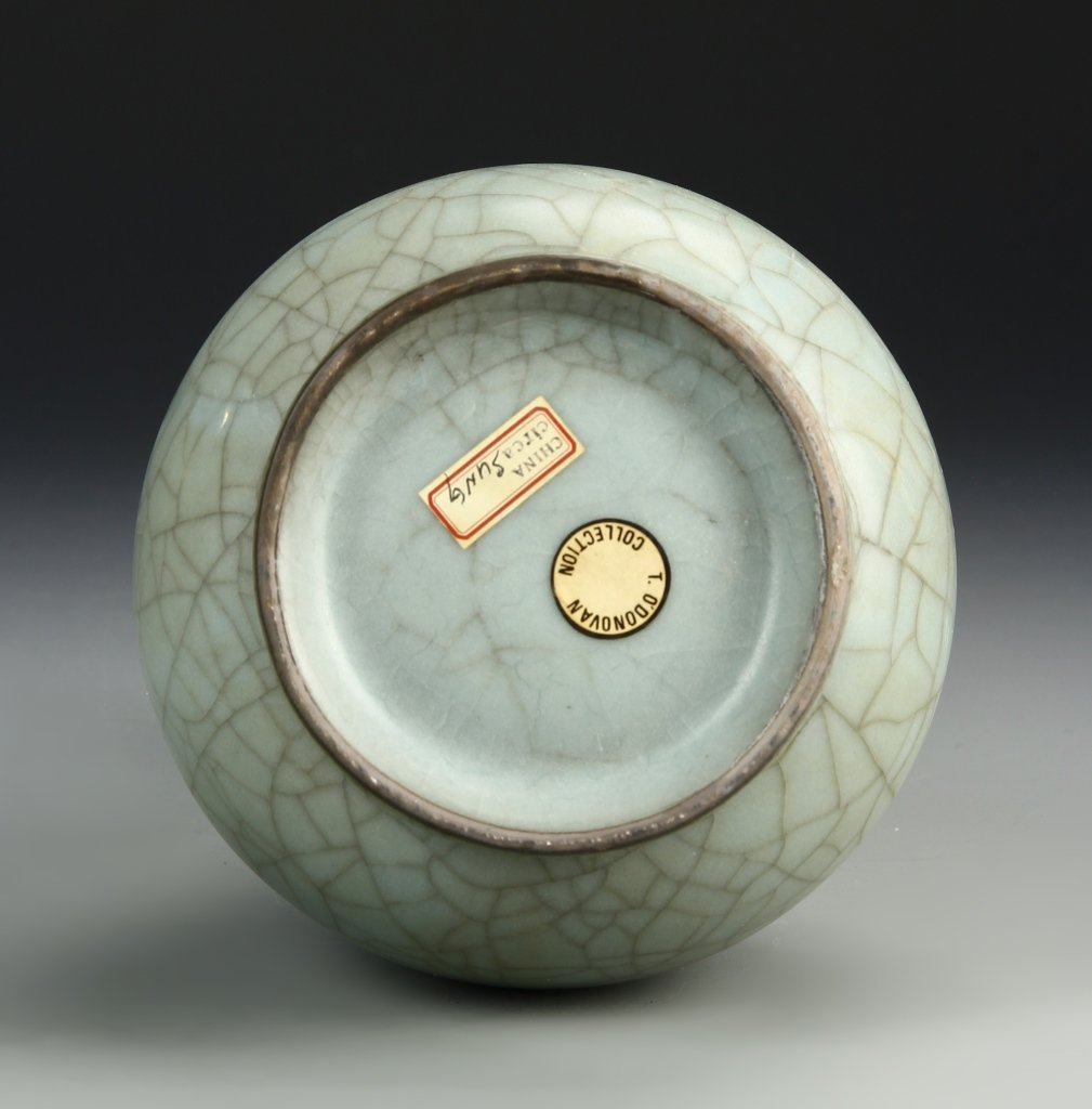 Chinese K'uan Type Garlic-Head Vase - 5
