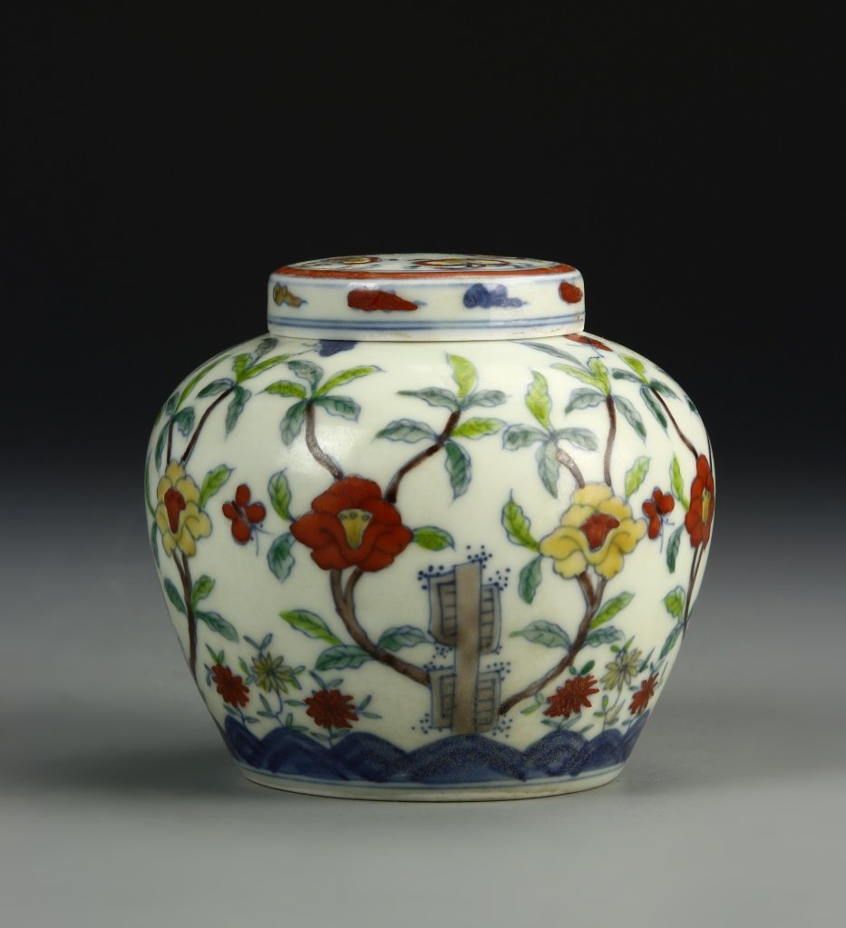 Dou-T'sai Jar and Cover