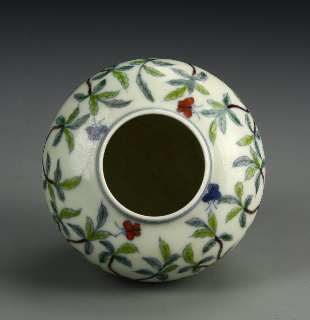 Dou-T'sai Jar and Cover - 4