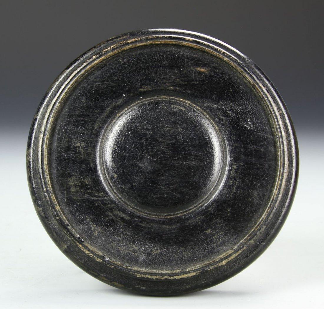 Chinese Crackled Foliate Bowl - 9