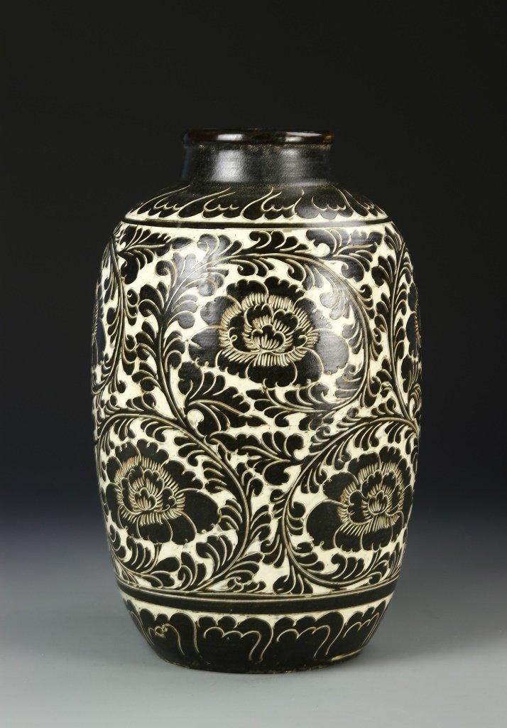 Chinese Cizhou Wear Vase