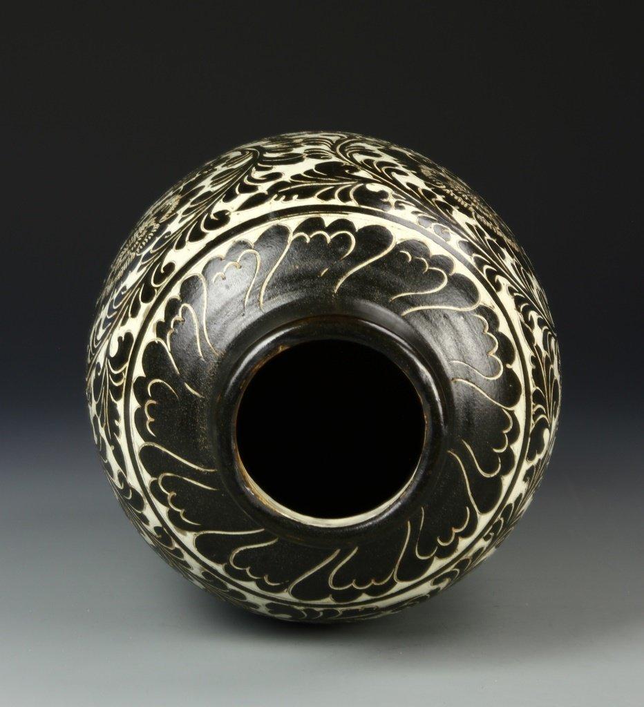Chinese Cizhou Wear Vase - 4