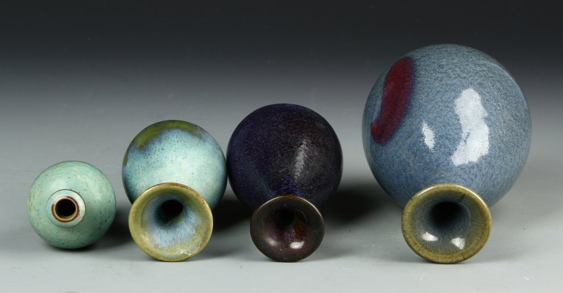 Four Chinese Meiping Vases - 3