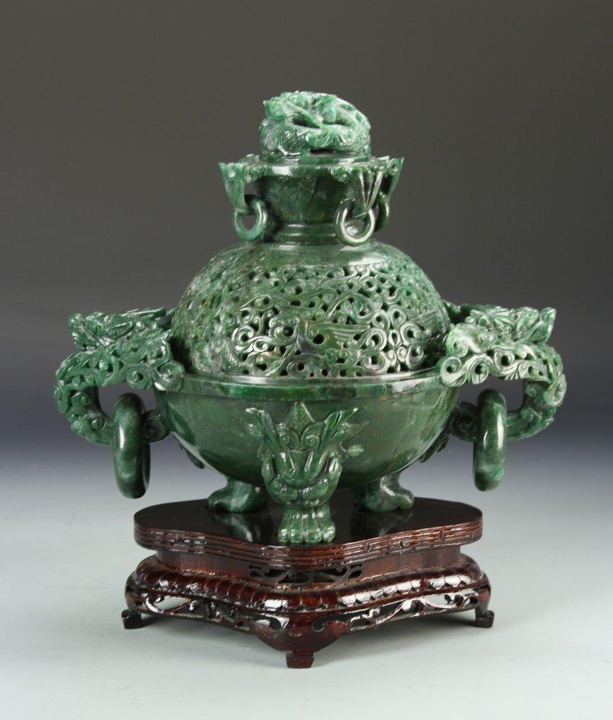 Chinese Jade Censer
