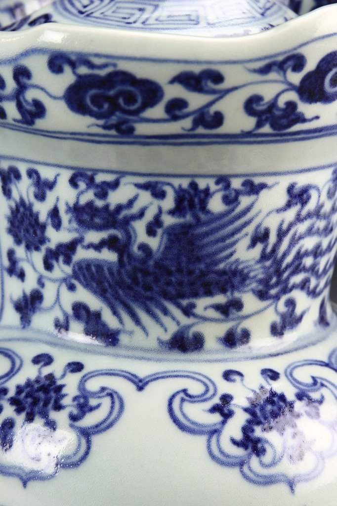 Chinese Blue and White Pitcher - 9