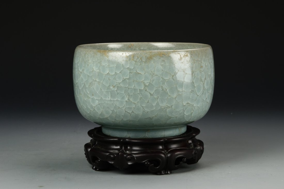"Rare Lungchuan ""Ice Crackle"" Bowl"