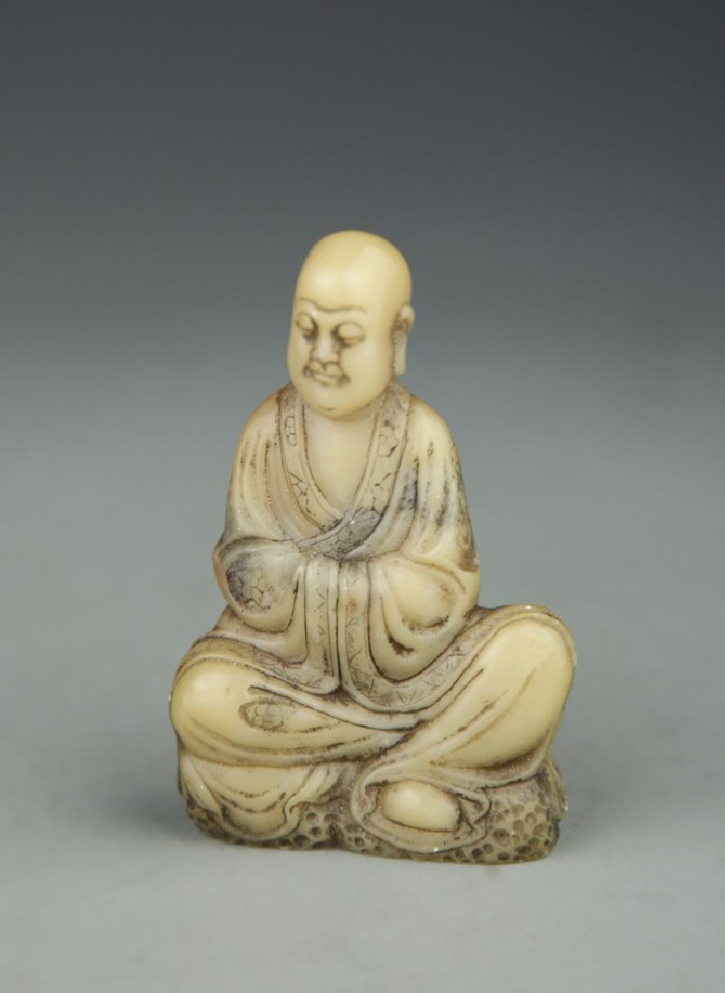 Chinese Shoushan Stone Luohan