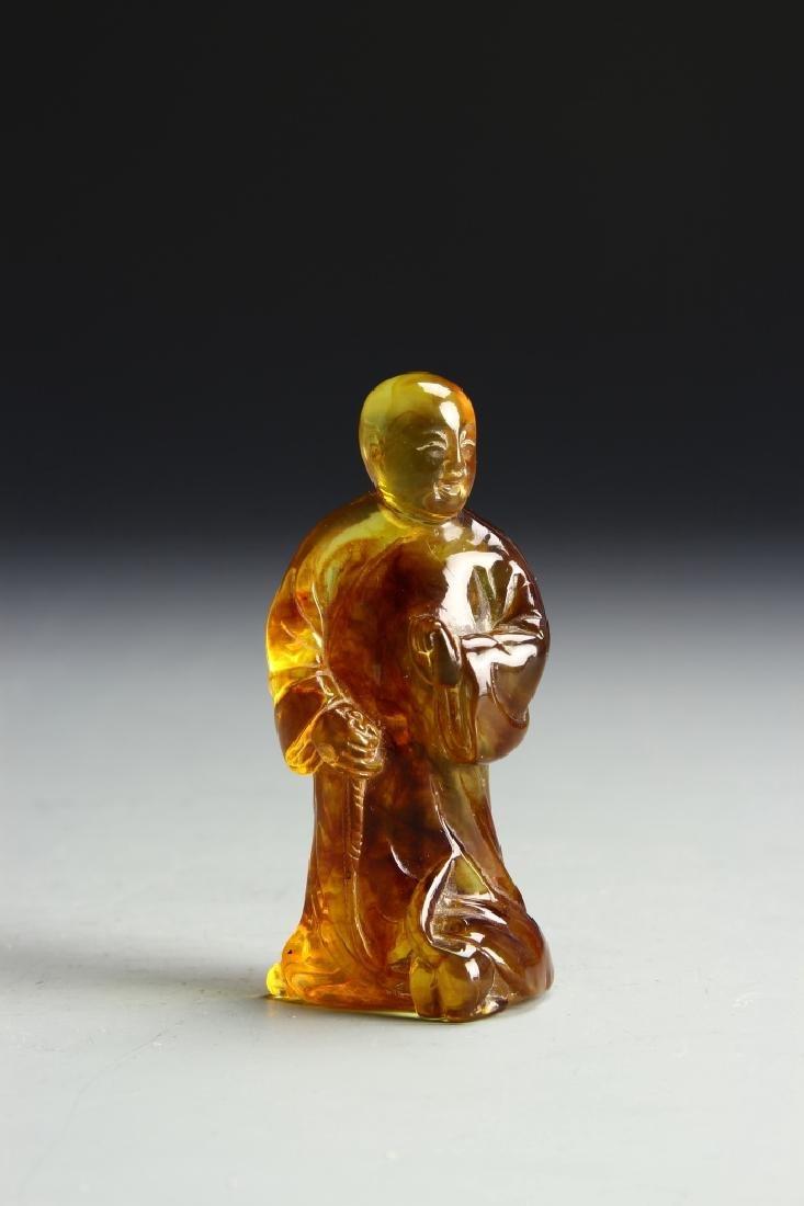 Chinese Amber Monk