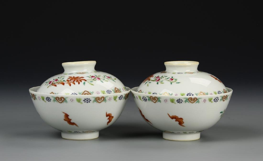 Chinese Tea Bowls - 4