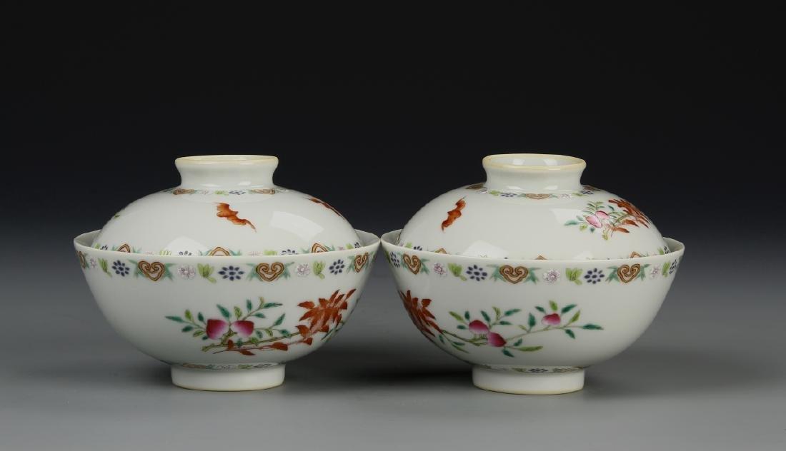 Chinese Tea Bowls - 5
