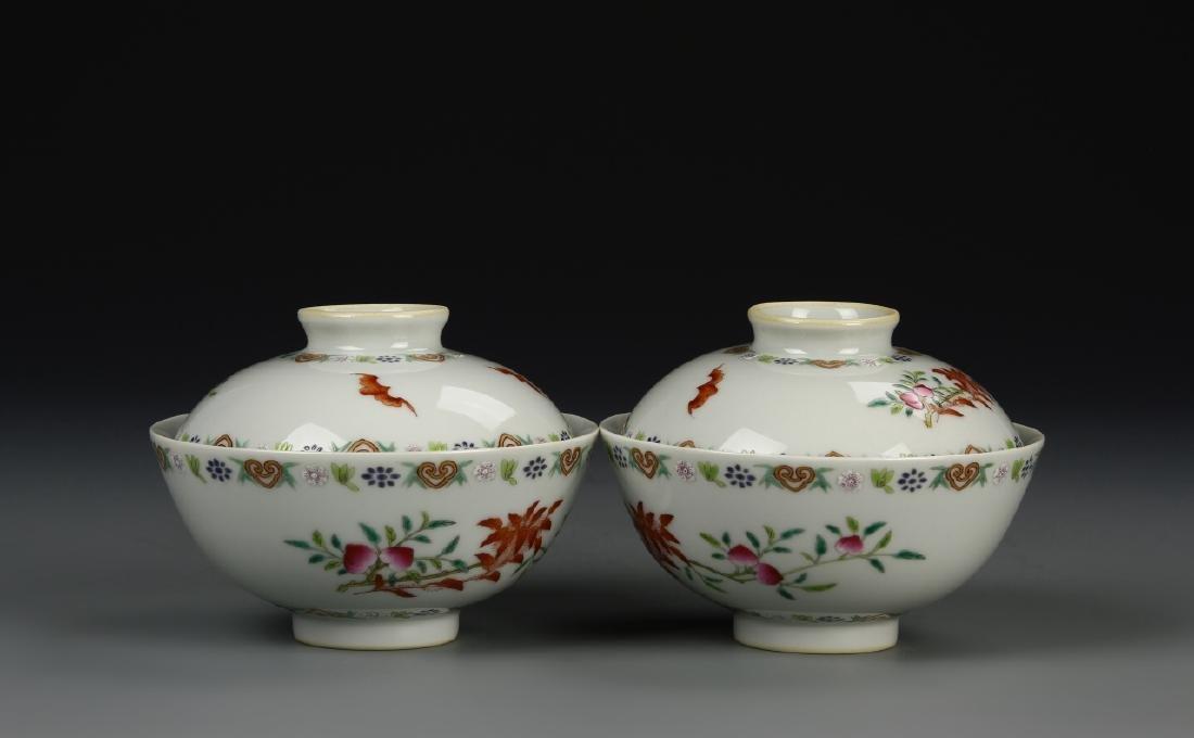 Chinese Tea Bowls - 6
