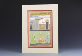 Indian Miniature painting, Vintage