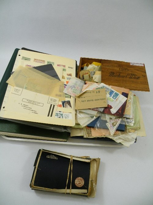 5: A large collection of early and later 20th C stamps