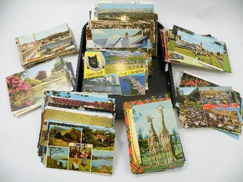 20: A mixed lot of topographical postcards and other to