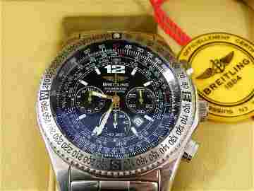 305: Breitling B2 Pilots Automatic chronograph on steel