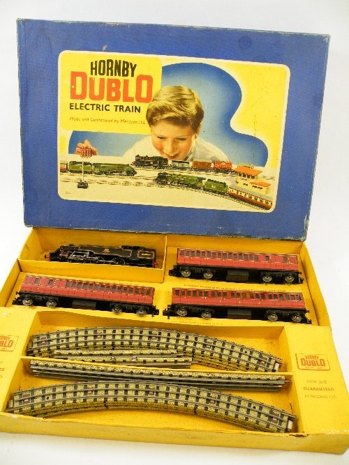 1: Hornby Dublo 2-6-4 passenger train set  in original