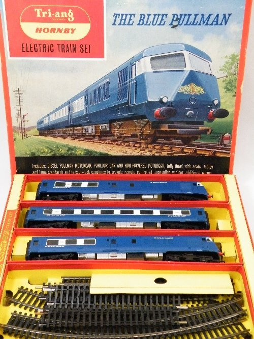 "21: Hornby Tri-ang The Blue Pullman"" electric train set"