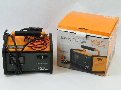 563: Ex- Argos graded item: RAC battery charger  RRP:£4