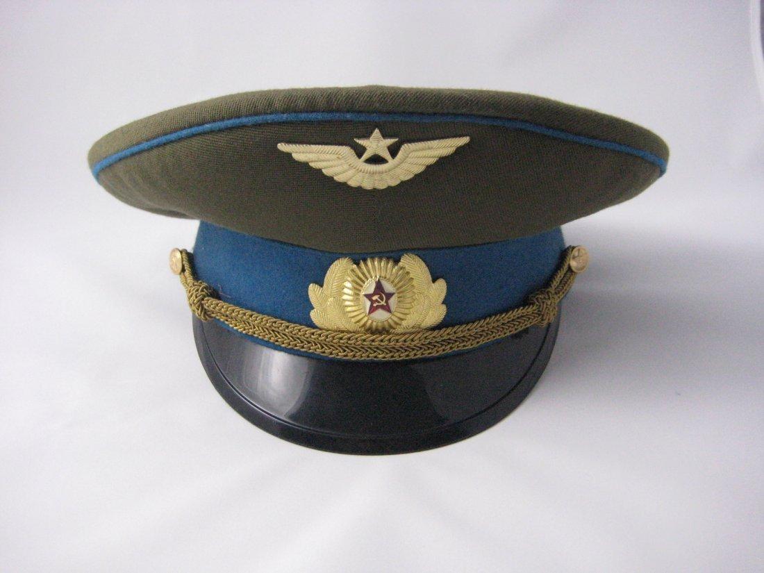 17: Soviet Russian Army Officer Dress Peaked Cap