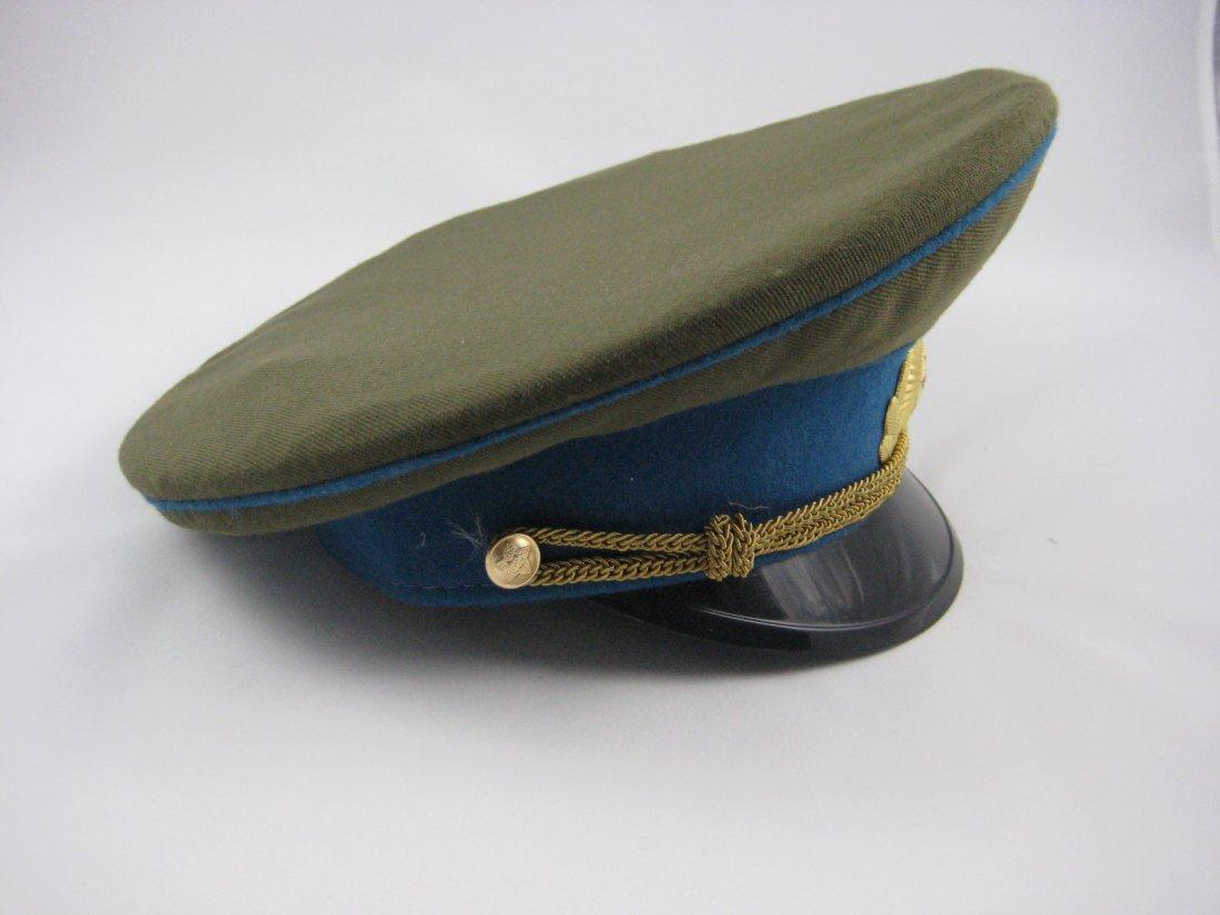 17: Soviet Russian Army Officer Dress Peaked Cap - 2