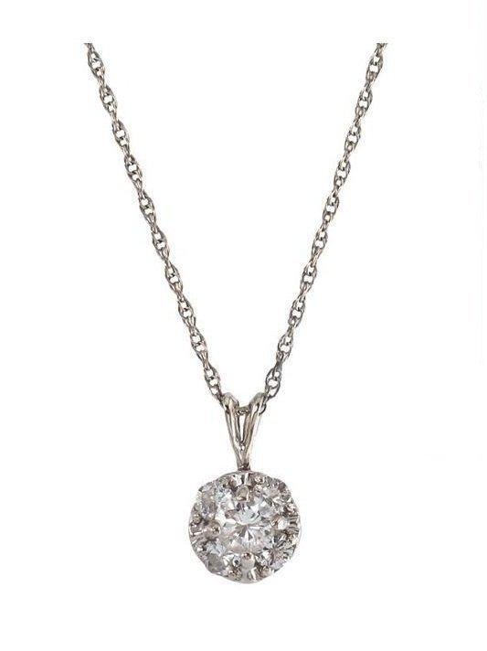 102: A WEAR IT DAILY DIAMOND NECKLACE.