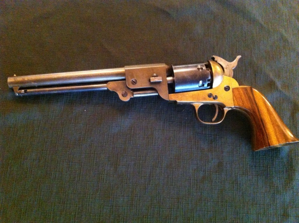 218: Connecticut Valley Arms Revolver with Engraving